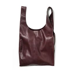 Baggu Medium Leather Bag, $80 (originally $160)