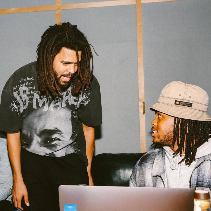 J. Cole with Childish Major