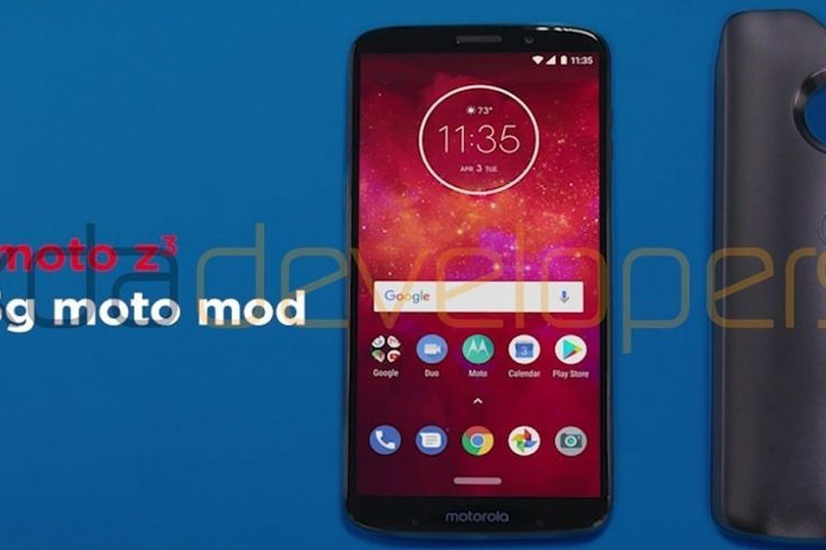 Motorola might release a 5G Moto Mod with a new flagship phone - The