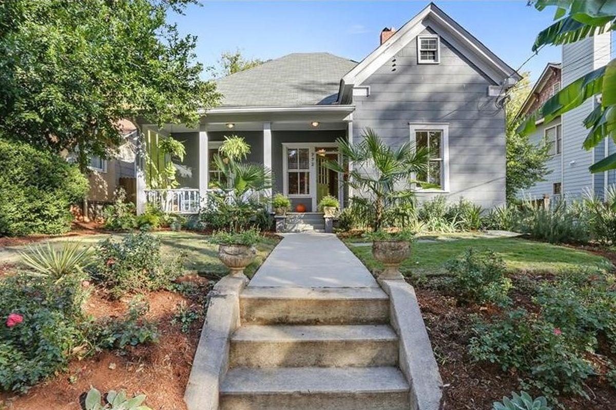 A home for sale in Grant Park Atlanta.