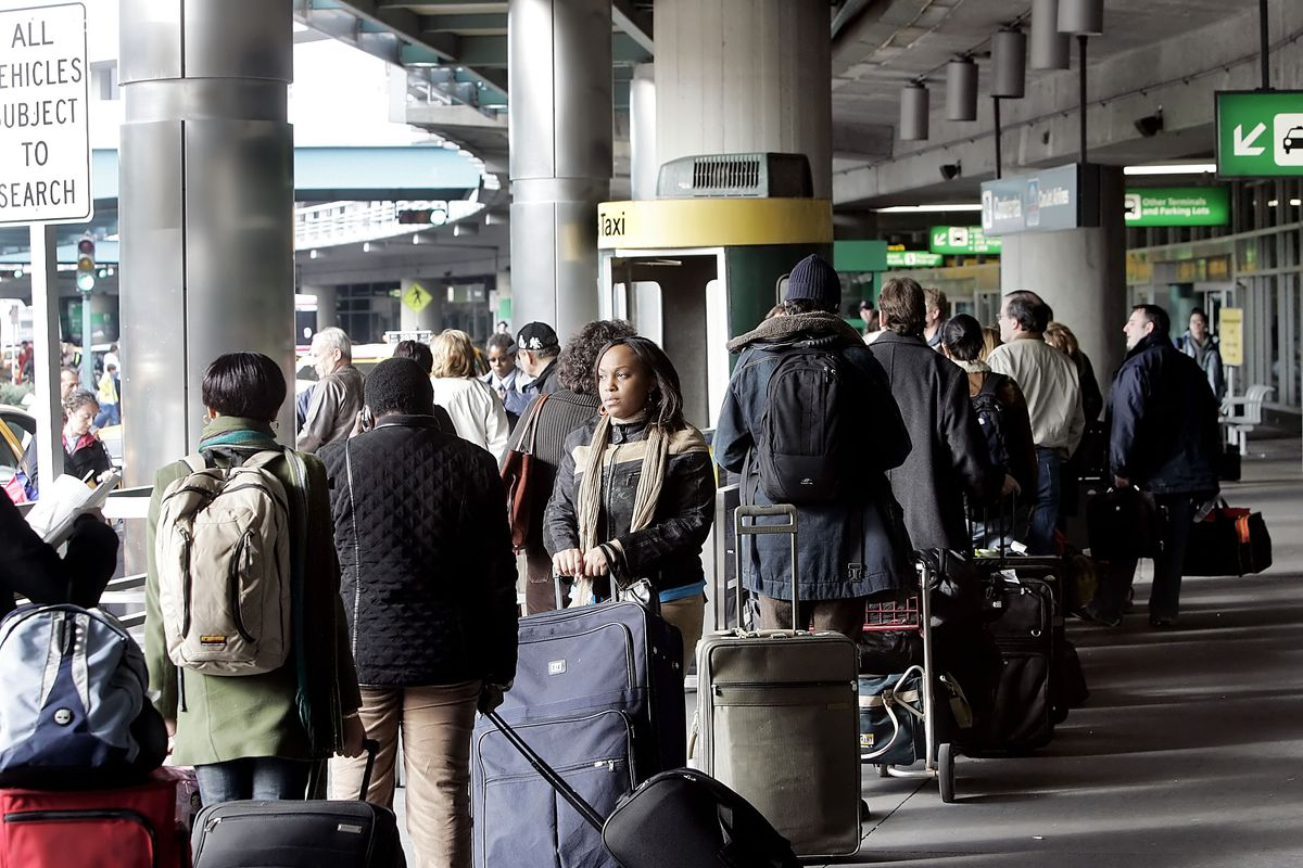 Travelers Return From Holiday Weekend