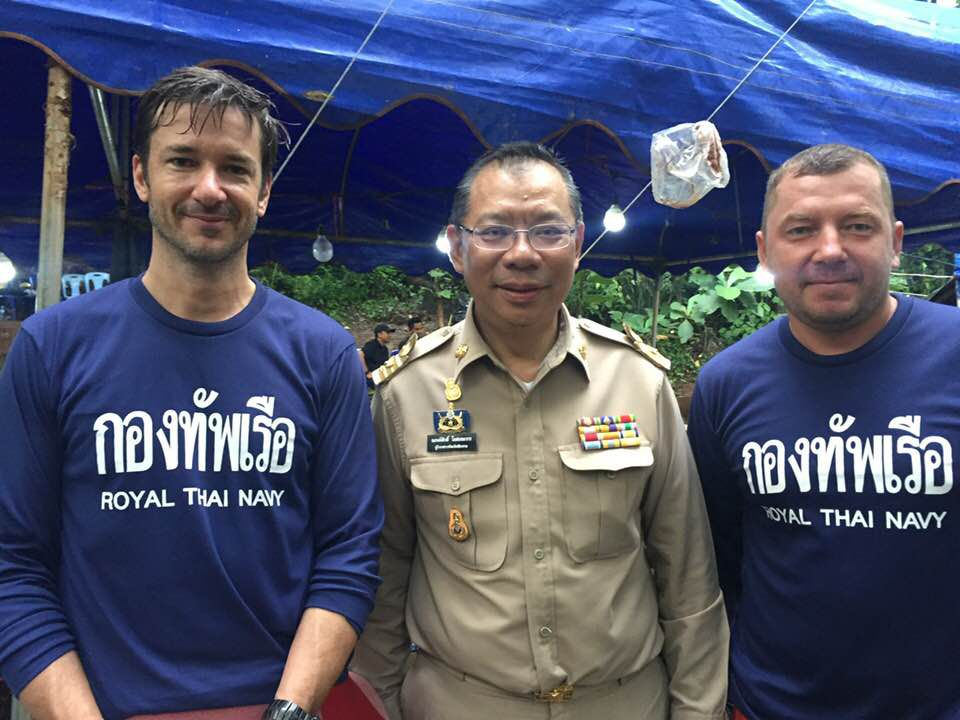 Thai cave rescue: a diver involved with the rescue explains