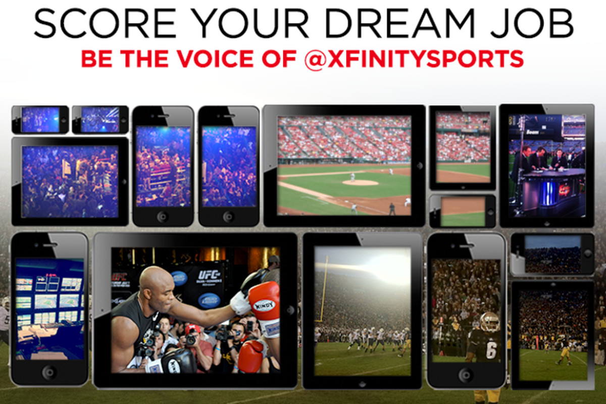 Win the job of a lifetime with XFINITY!