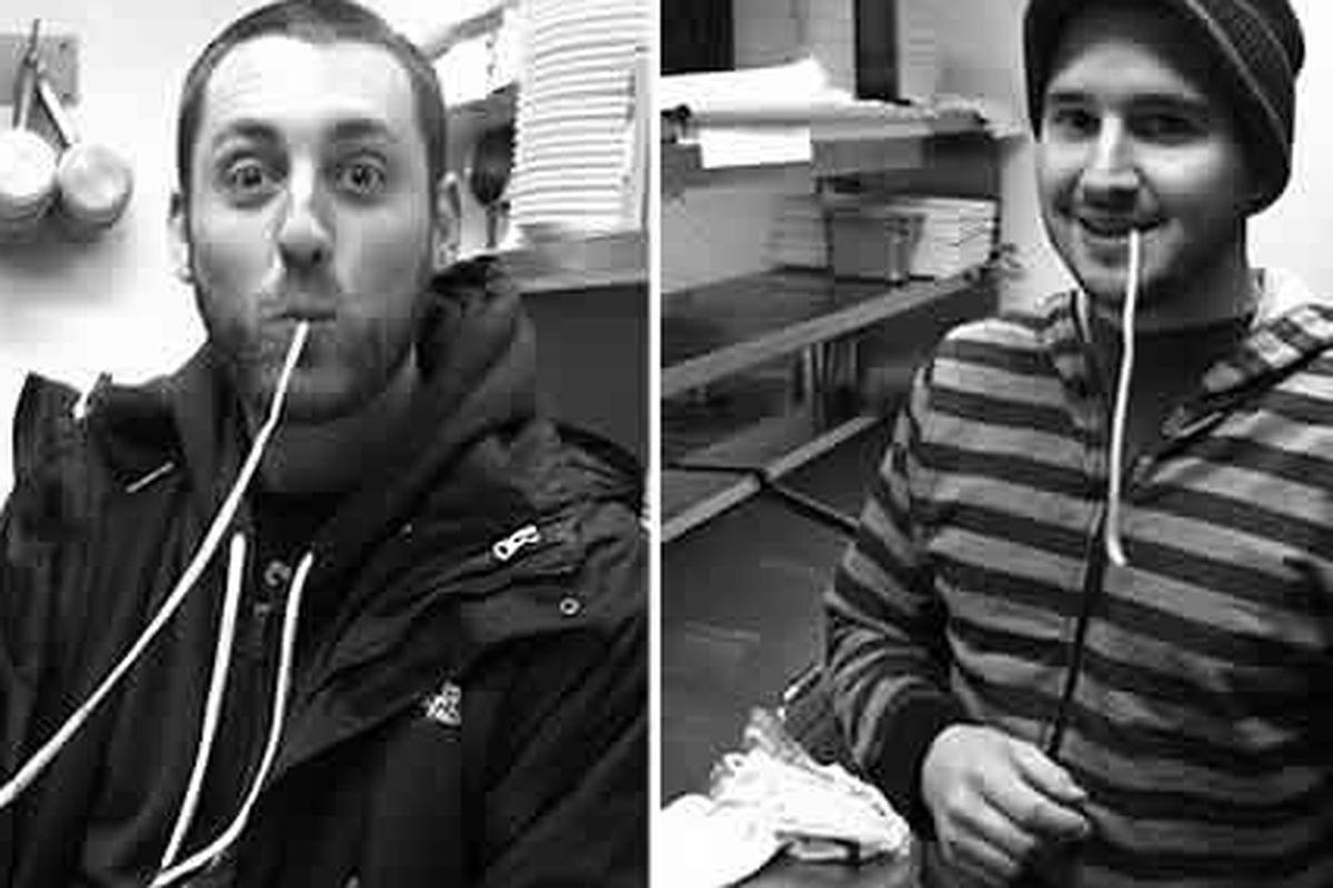 Shawn Darragh and Ben Puchowitz found a space.