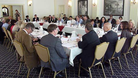 First meeting of Education Leadership Council on Sept. 20, 2011.