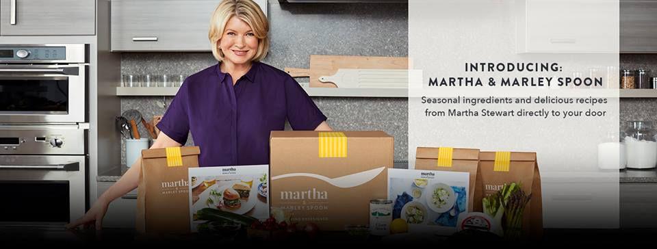 Martha Stewart Marley Spoon