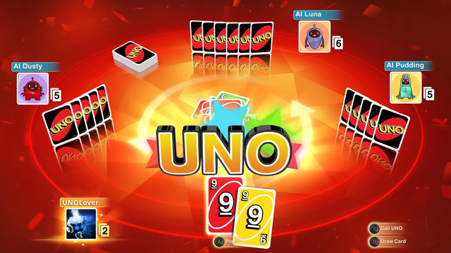 An UNO screen