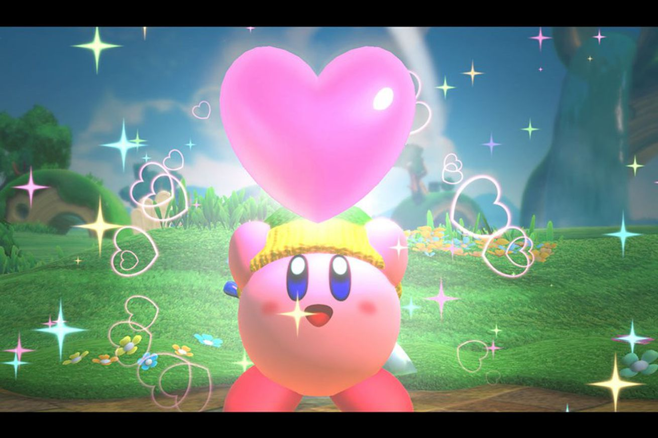 nintendo s new kirby is the rare co op game that s fun to play with kids