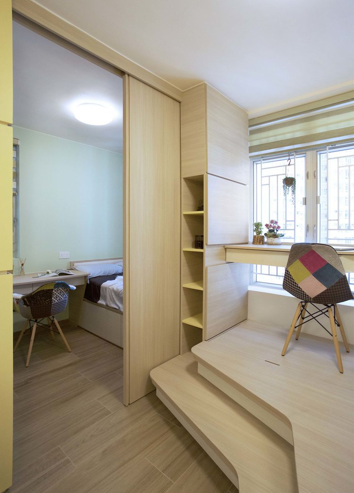 Micro apartment for family of 3 doubles as ceramics gallery Curbed