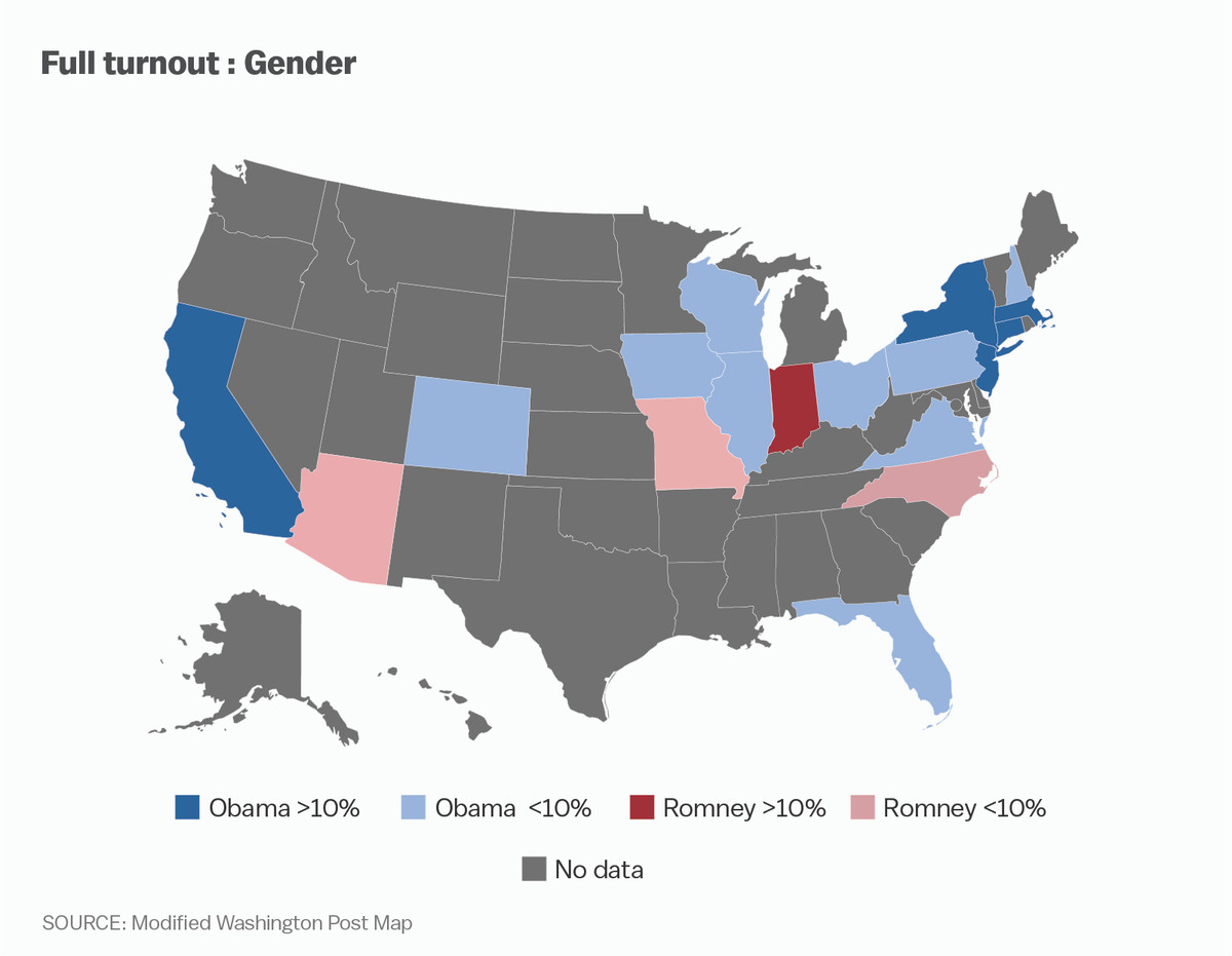 Post gender map modified