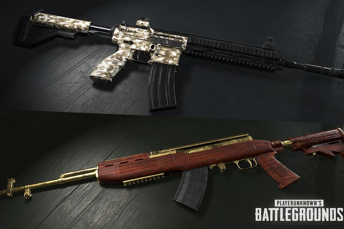 best guns in pubg xbox one