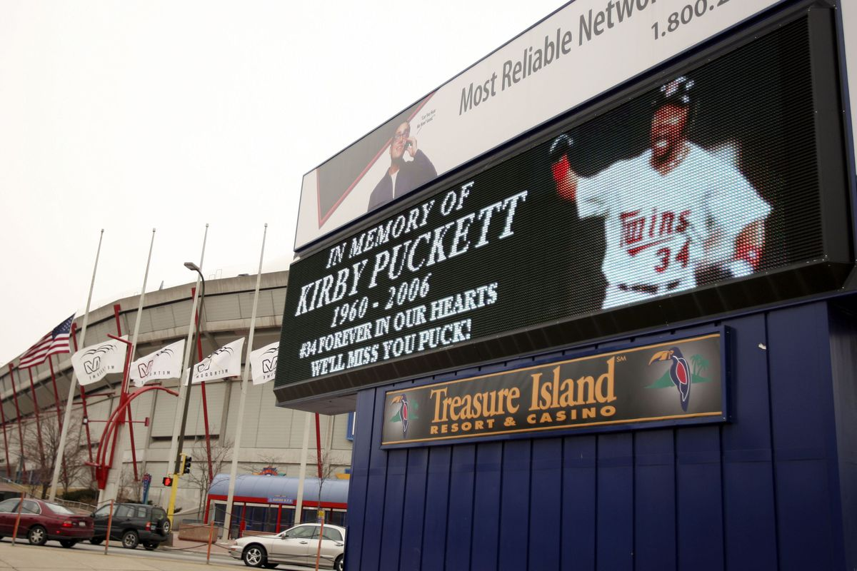 Kirby Puckett Spontaneous Memorial
