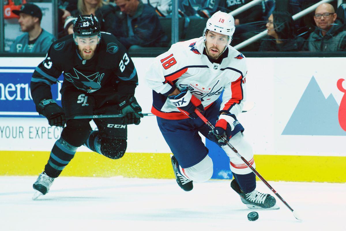 NHL: FEB 14 Capitals at Sharks