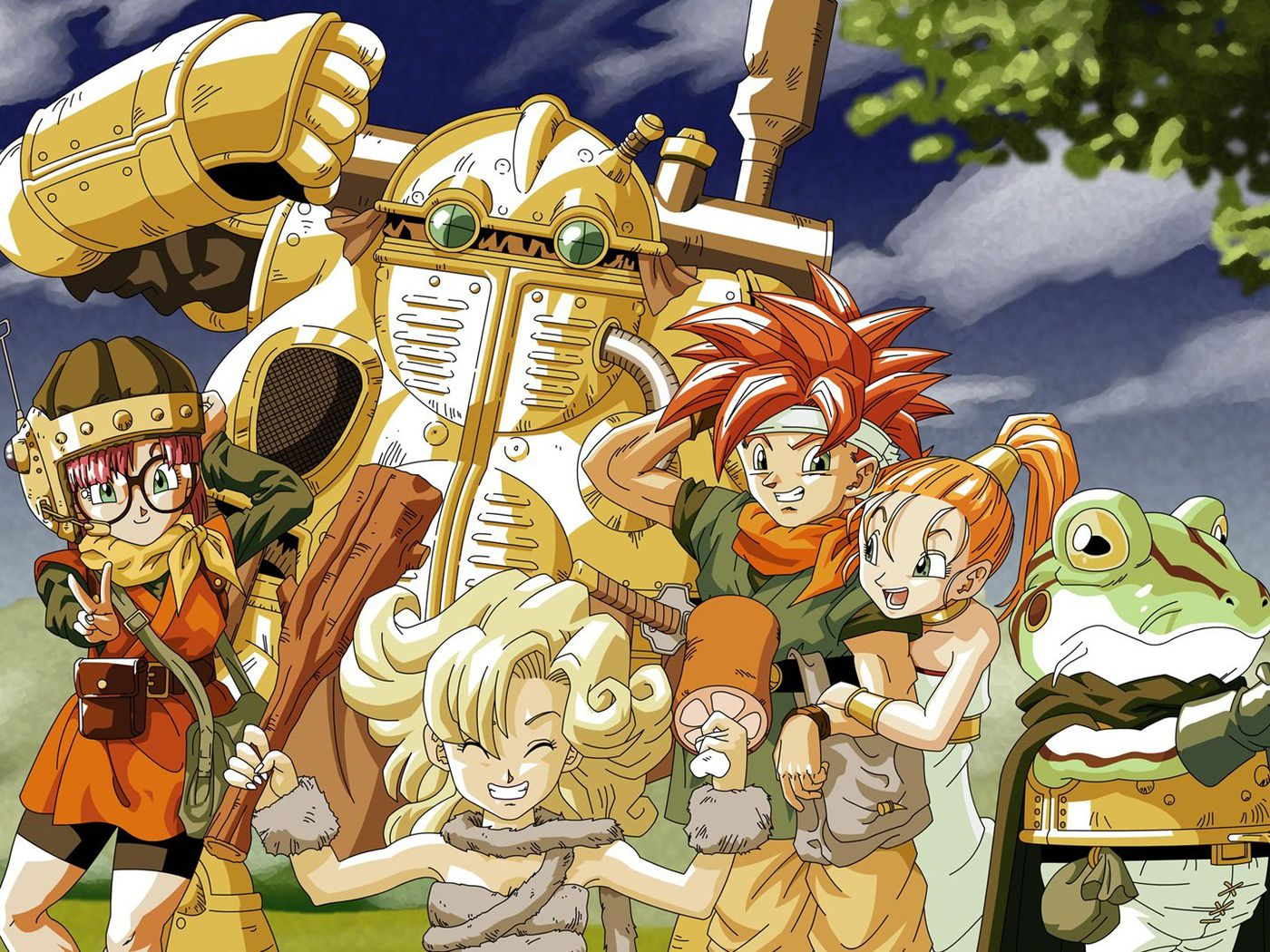 Steam version of Chrono Trigger patched, looks better already - Polygon