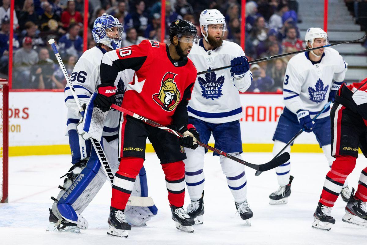 NHL: FEB 15 Maple Leafs at Senators
