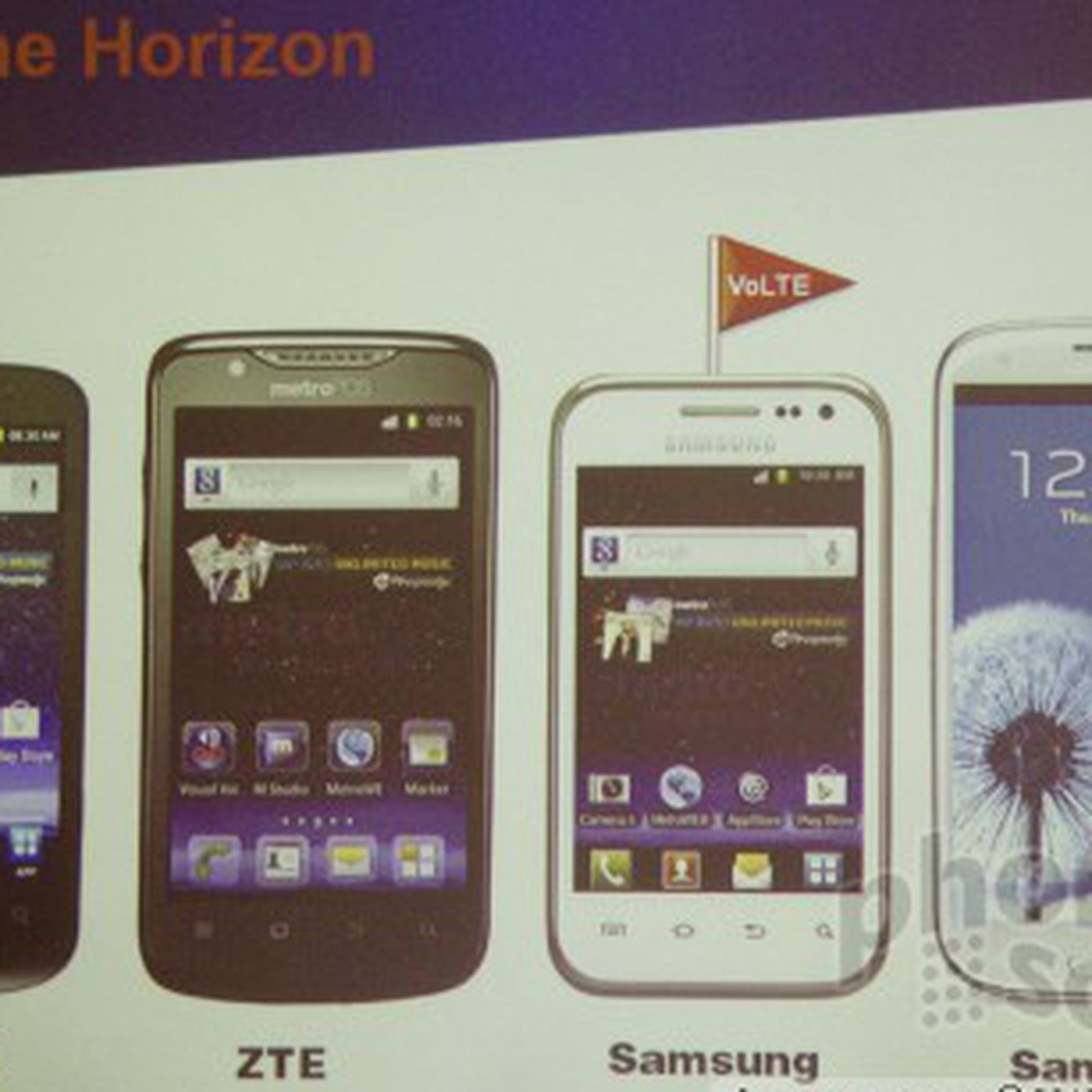 Metropcs Details Fall Smartphone Lineup Galaxy S Iii Due Later This Year The Verge