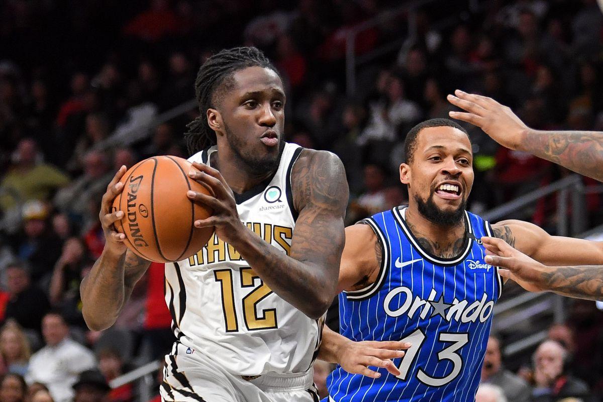 NBA: Orlando Magic at Atlanta Hawks