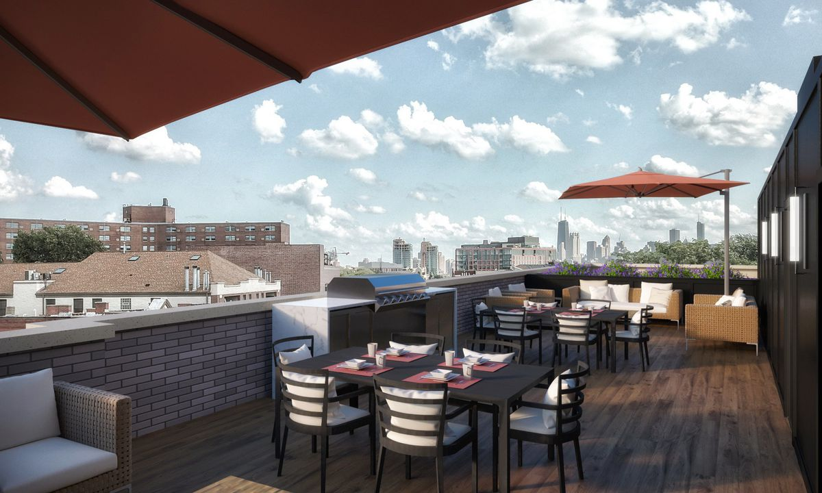 Ten luxury condos will replace old lincoln park 7 eleven for The pointe at lincoln park