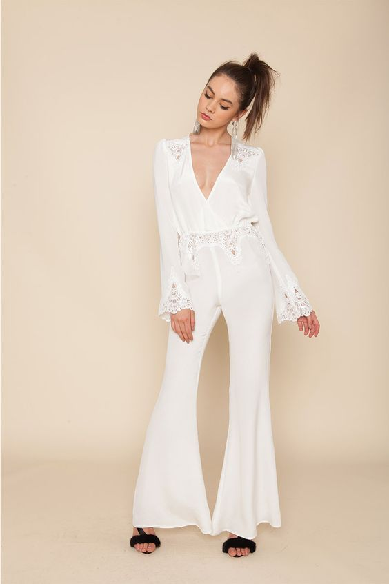74a19c26cdde Wedding Day Jumpsuits for Brides That Don t Do Dresses - Racked