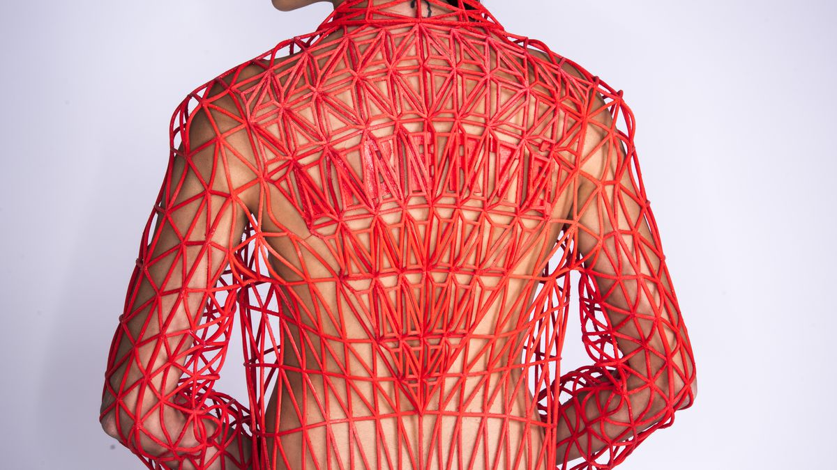 why shop when you can 3d print your clothes