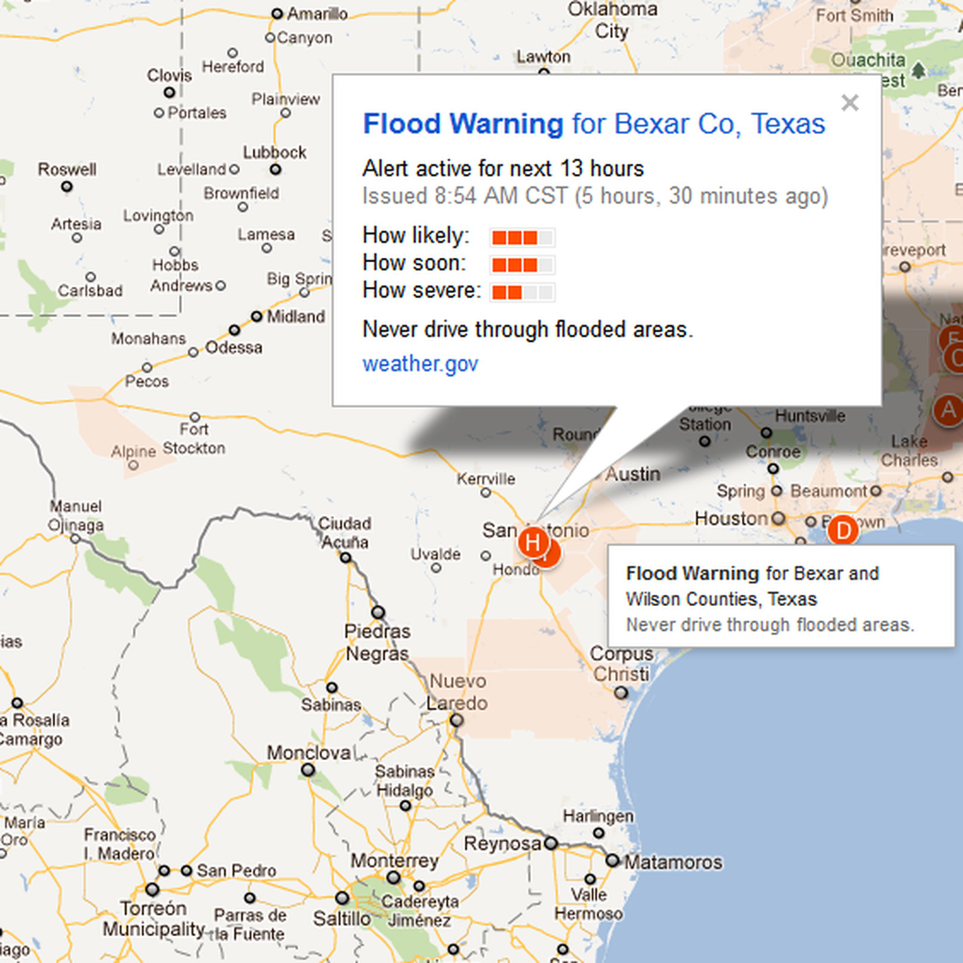Google adds emergency alerts to Maps - The Verge on nasa flood map, google listing, live flood map, geographic information system flood map, world flood map, search flood map, google scholar, google property search, al gore flood map,