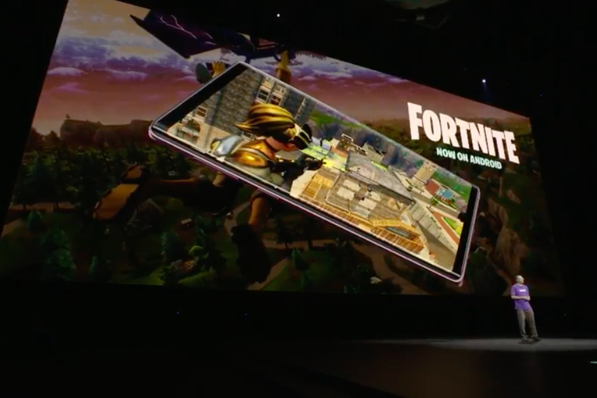 Samsung's Fortnite exclusive will expire before the Note 9 even