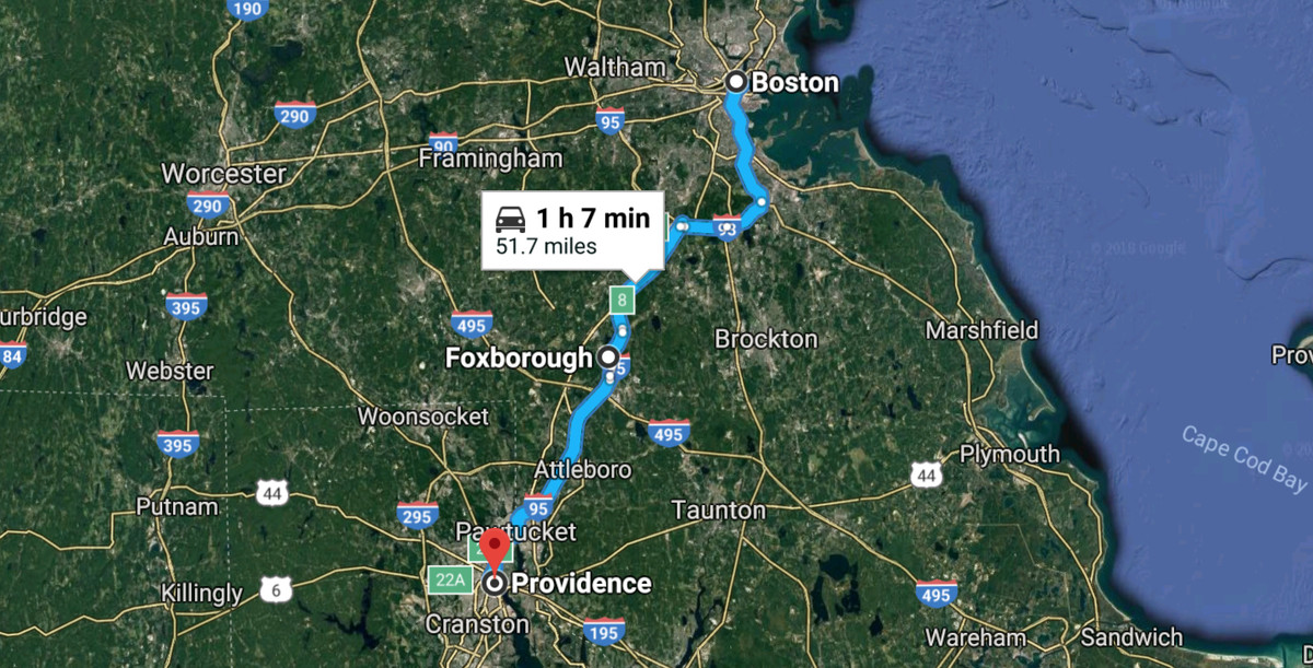 Where do the Patriots play their home games? Foxborough ...