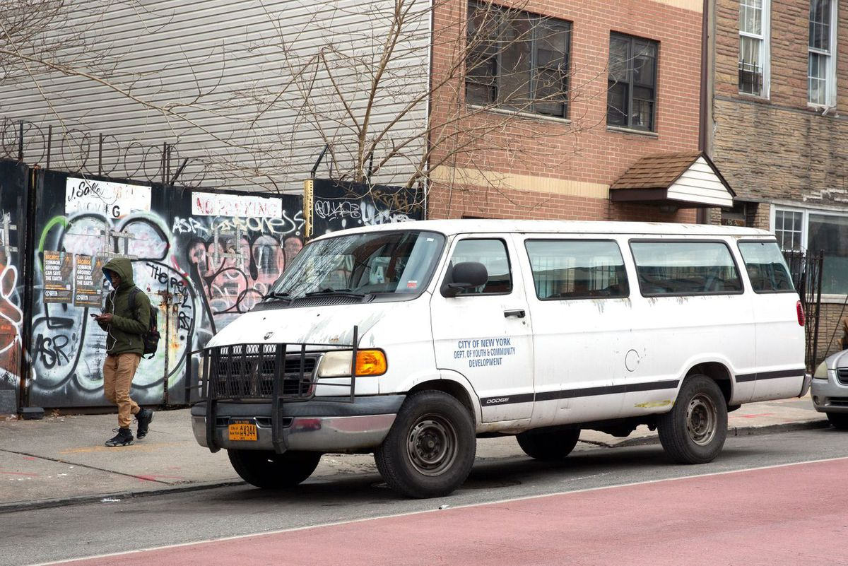 Crown Heights Youth Collective outreach van