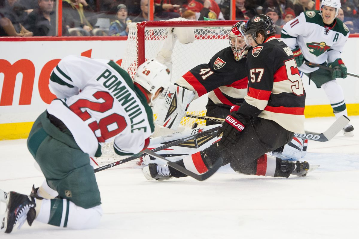 While Jason Pominville's goal was nice, nothing can compare to the level of trolling Dany Heatley levied upon the Senators.