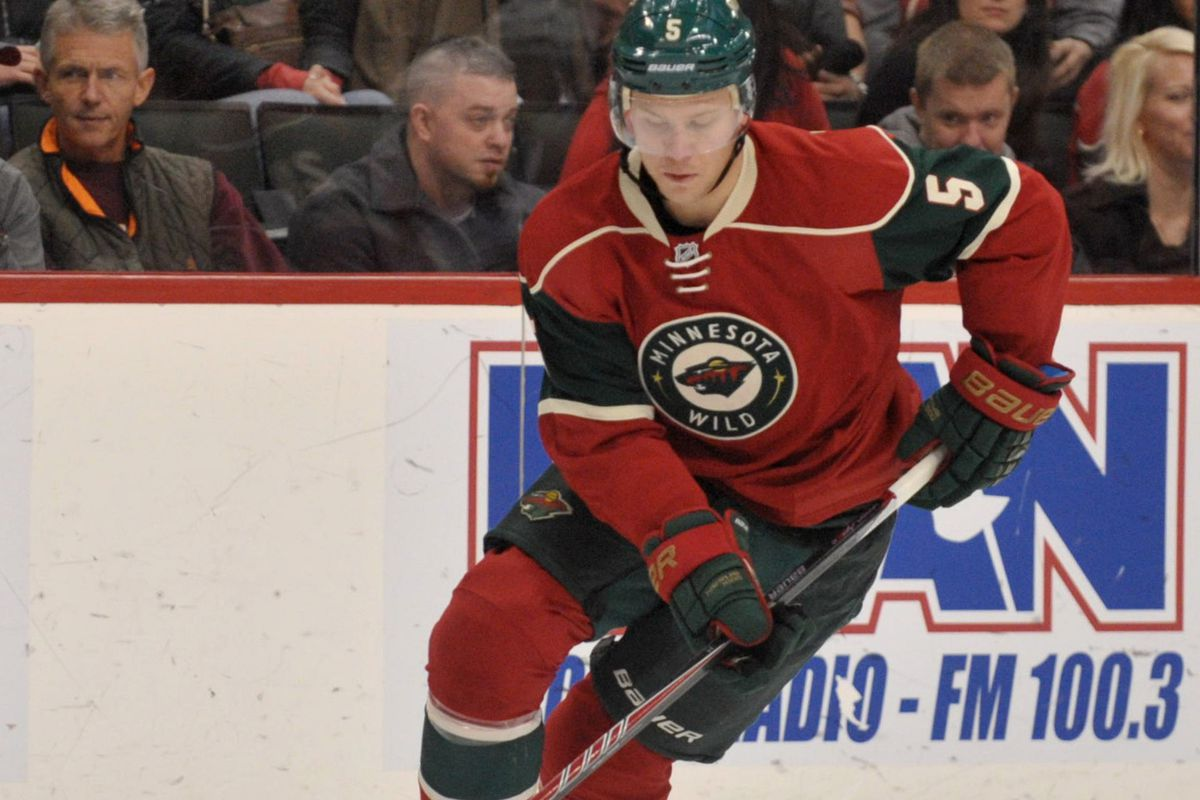Folin got an assist on Pominville's goal; his first since being called up from Iowa