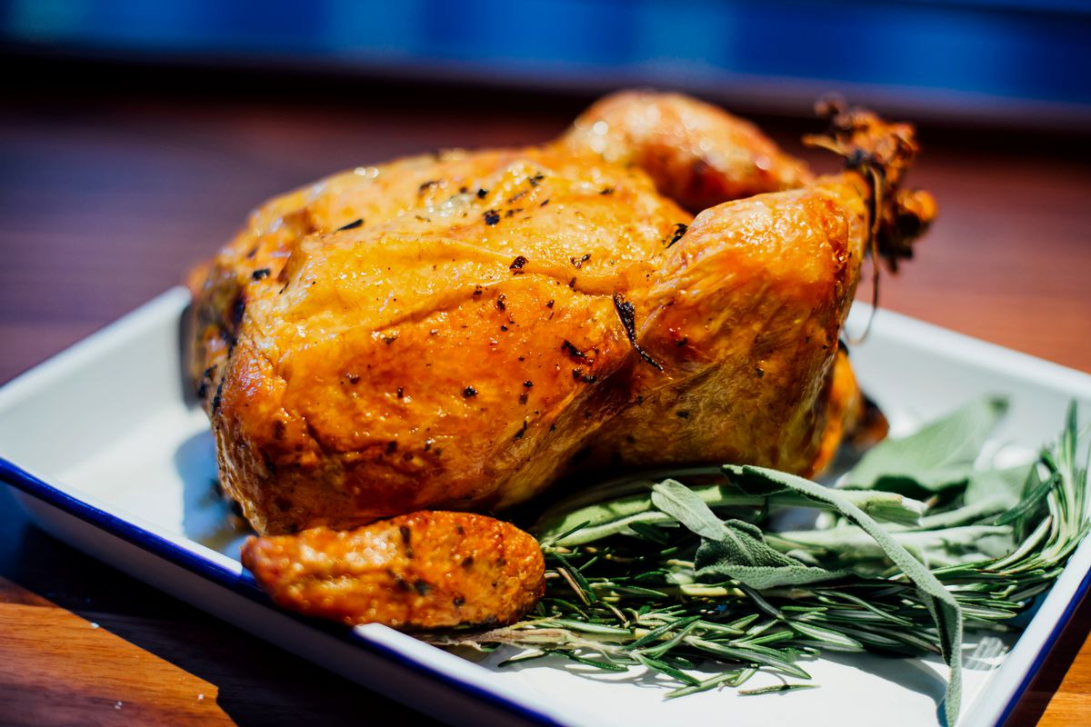 Daily Provisions rotisserie chicken
