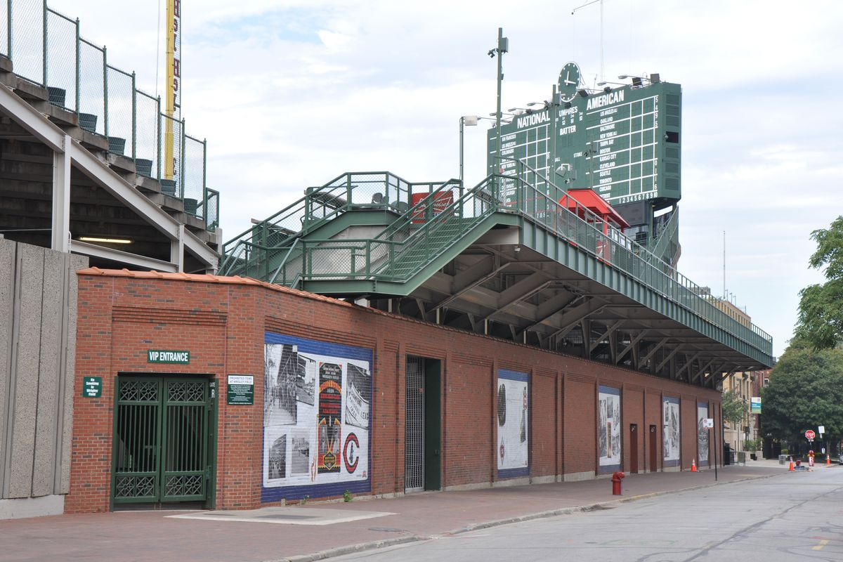 Remember when Wrigley Field looked like this? It was less than six months ago.