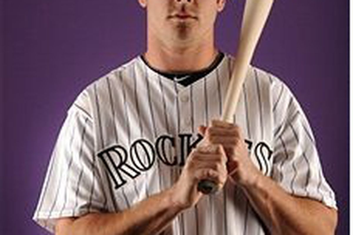 Colorado Rockies outfield prospect Tim Wheeler (photo by Harry How, Getty Images)