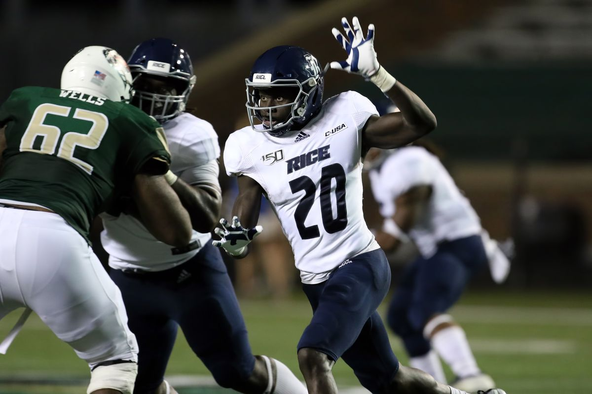 COLLEGE FOOTBALL: OCT 05 Rice at UAB