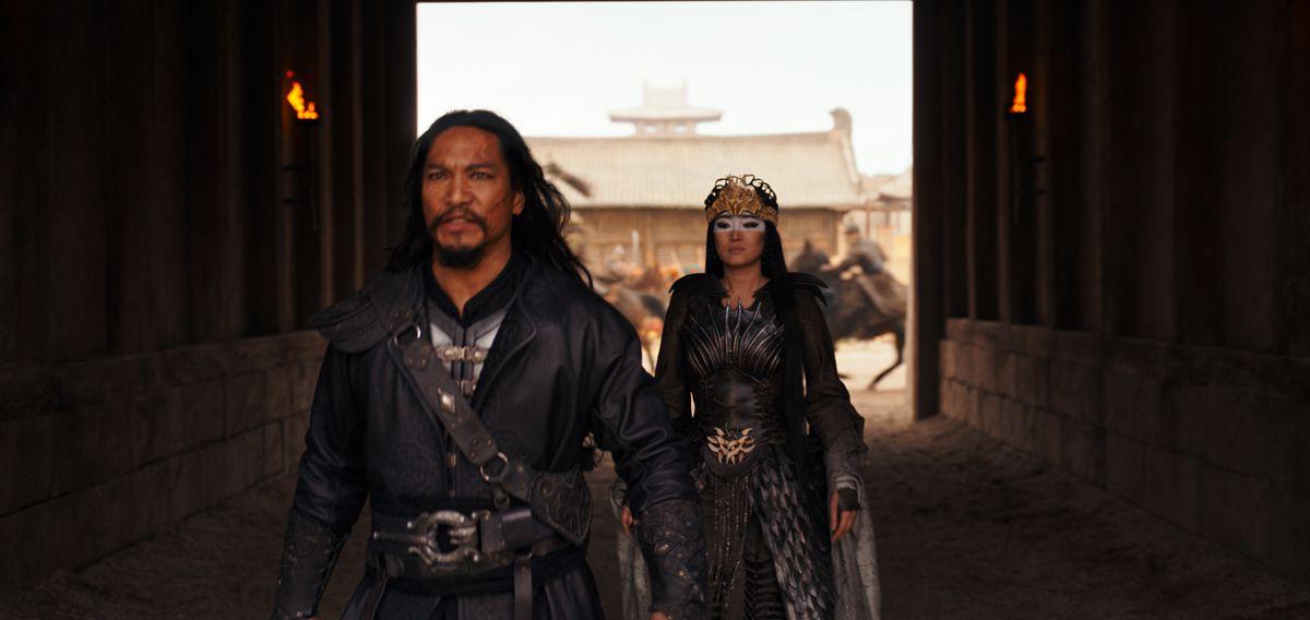 bori khan followed by xian lang