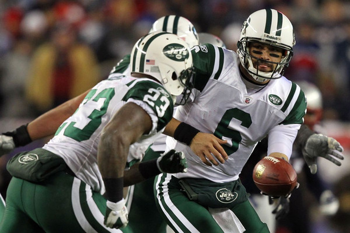 The Jets traded up for both Mark Sanchez and Shonn Greene in 2009.