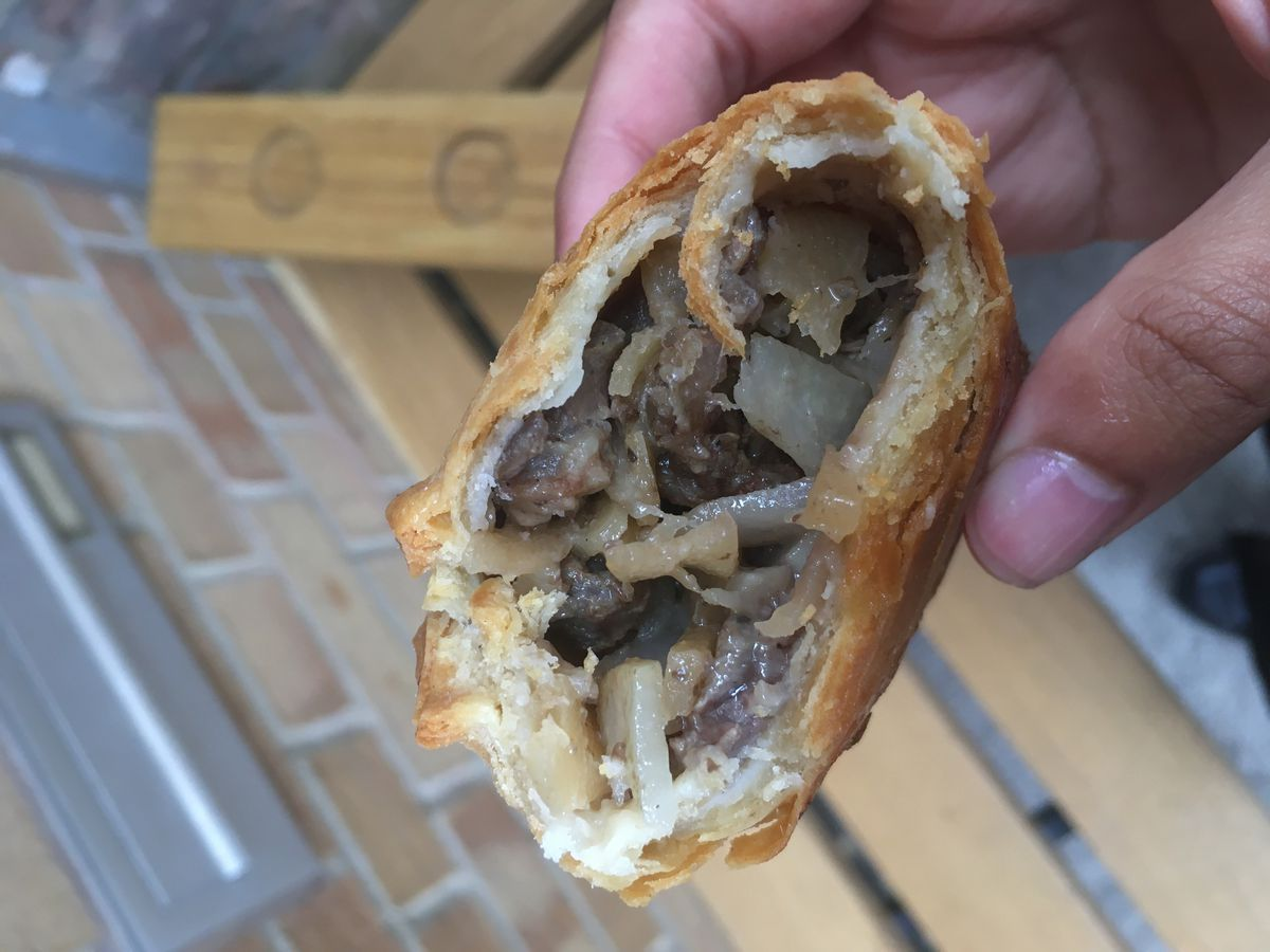 A Cornish pasty in all but name, 40 Maltby Street's beef pasty is one of the best things Eater writers ate in London this week
