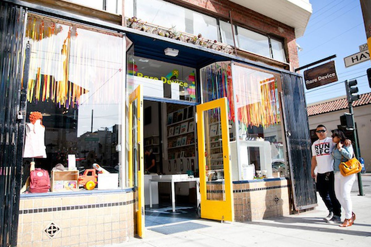 """Rare Device will add a second location in addition to its Alamo Square store; photo via <a href=""""http://raredevice.net/pages/about-us"""">Rare Device</a>"""