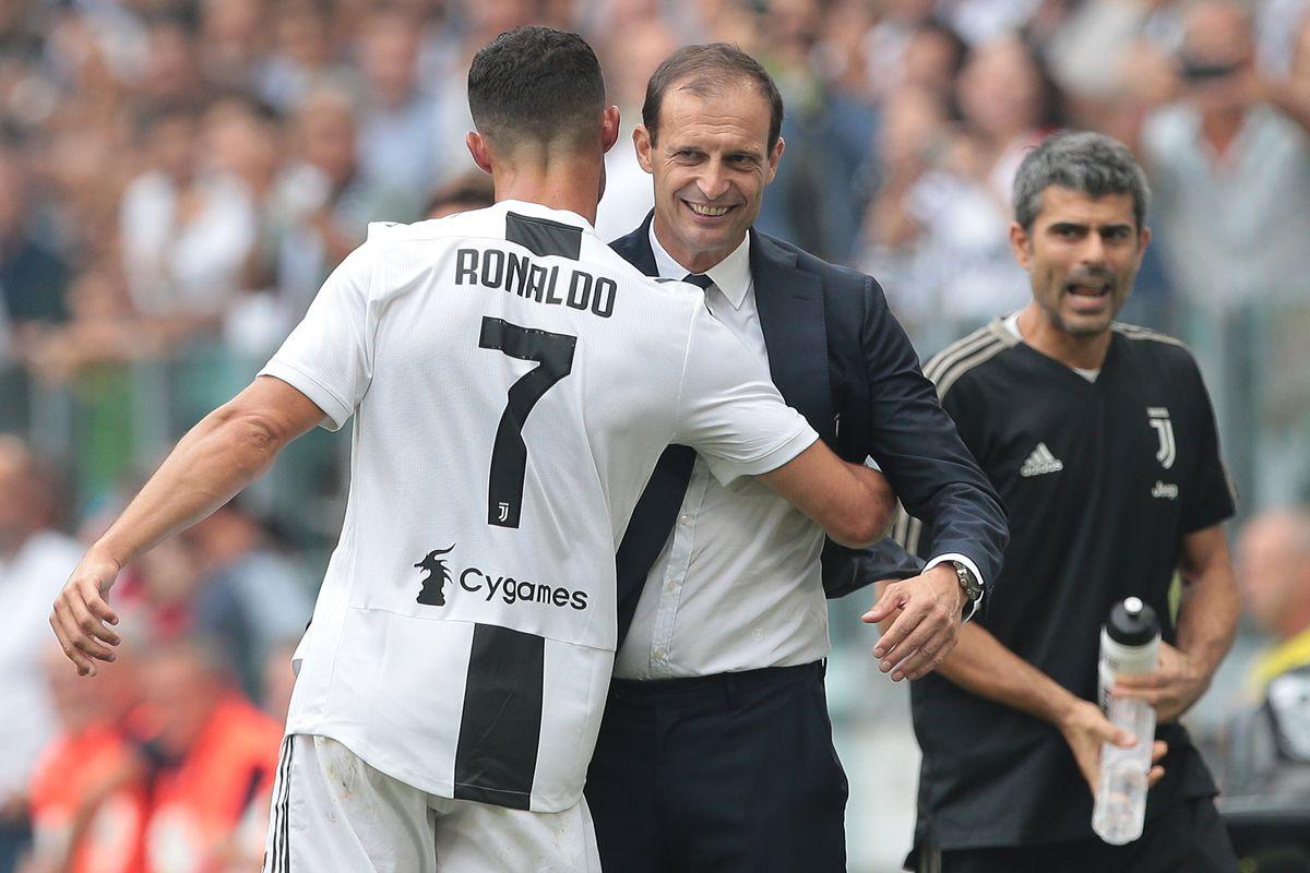 info for 4fa0c 24baa Despite Cristiano Ronaldo, Max Allegri and Juventus haven't ...