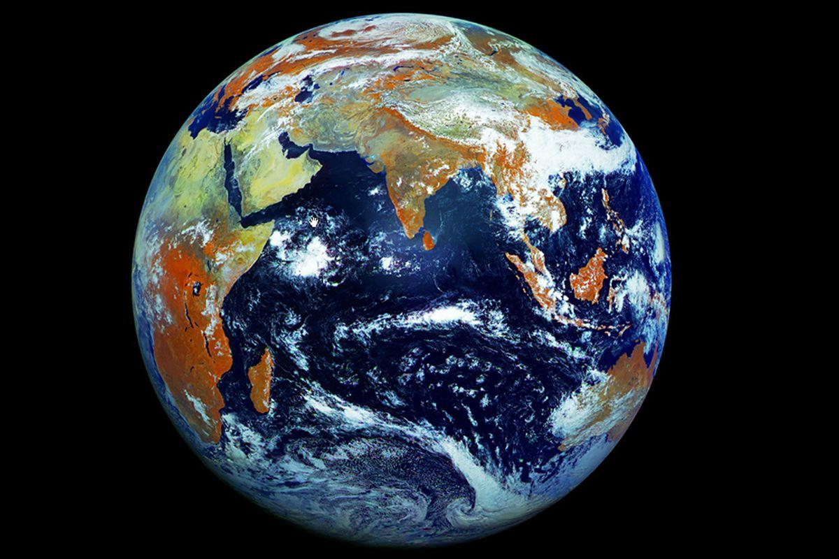 Russia Elektro-L No.1 Earth image