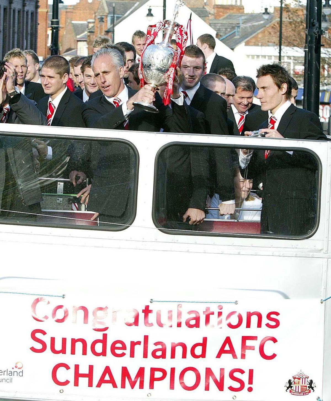 Soccer - Sunderland Victory Parade