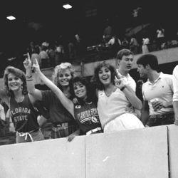 1985 Doak Ladies Hairstyles. Big hair ruled.