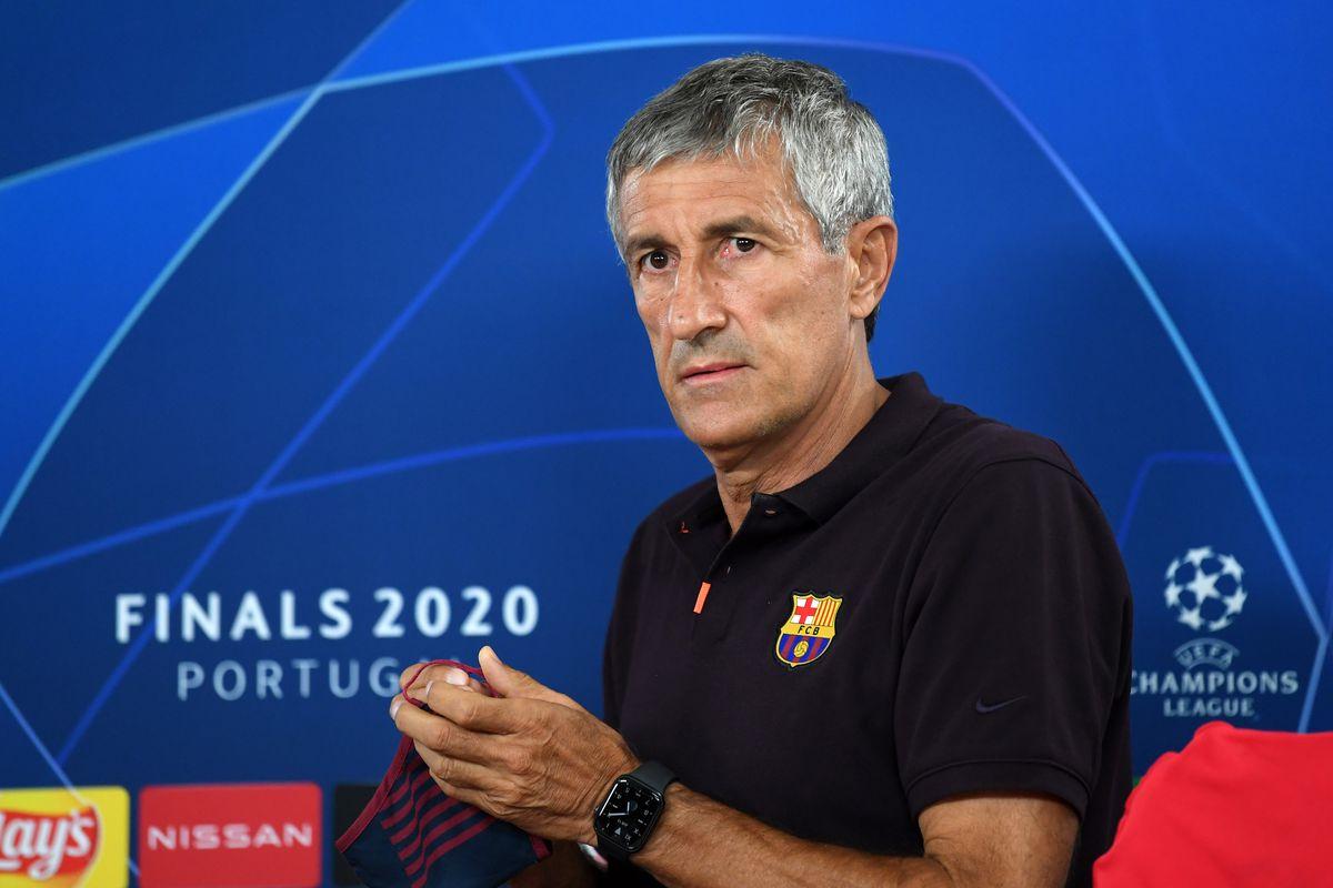 Barcelona Press Conference - UEFA Champions League