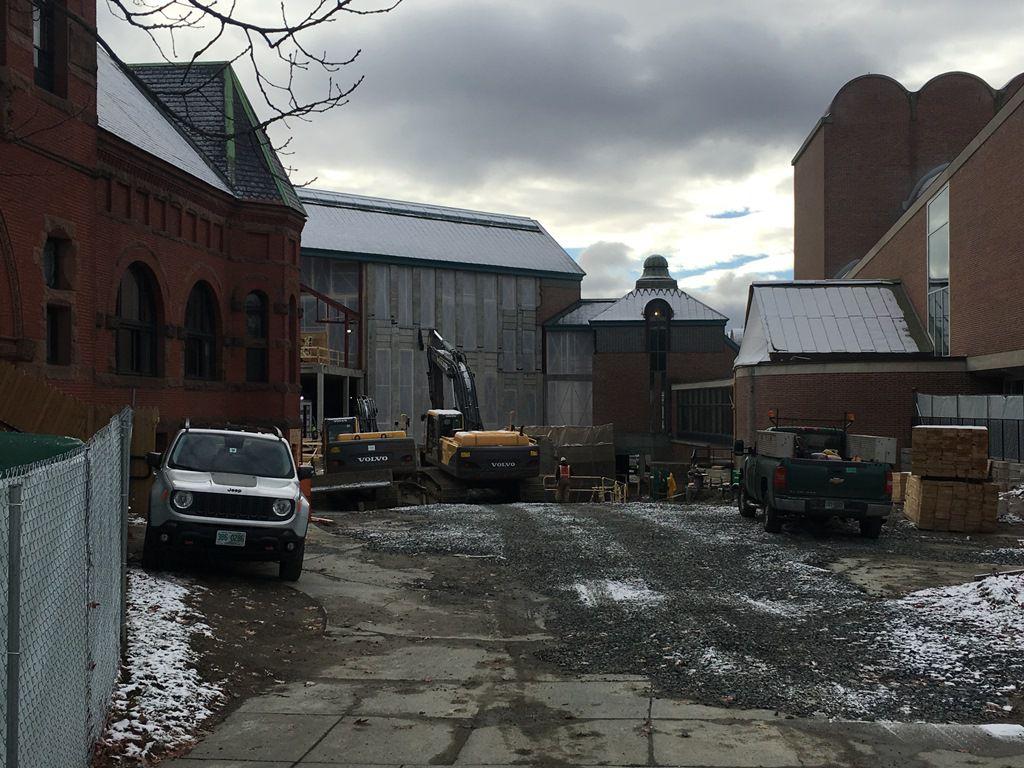 Demolition of Hood Museum