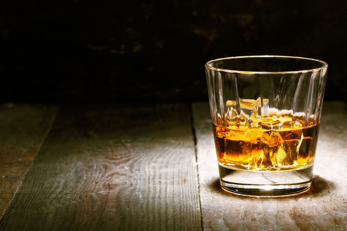 It's okay if you don't ration your Scotch tonight. But please don't use this much ice.