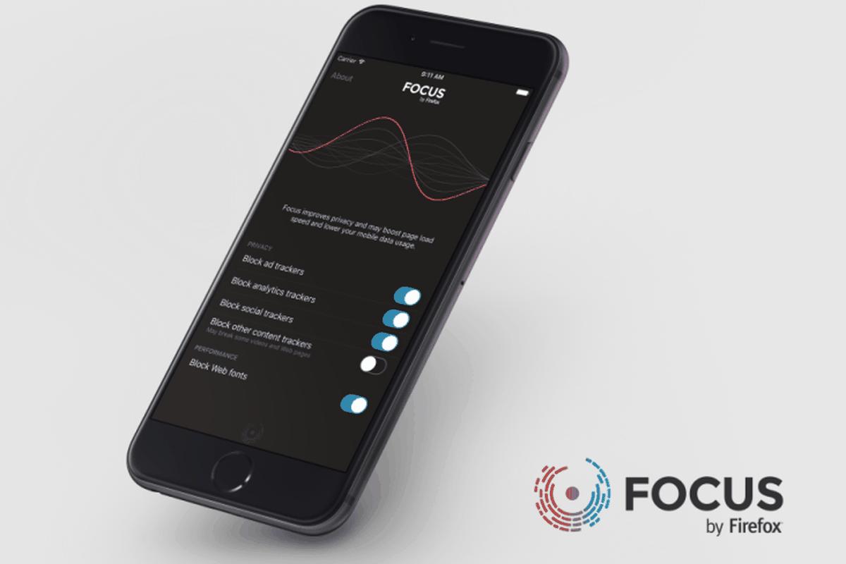 Focus Firefox on iPhone
