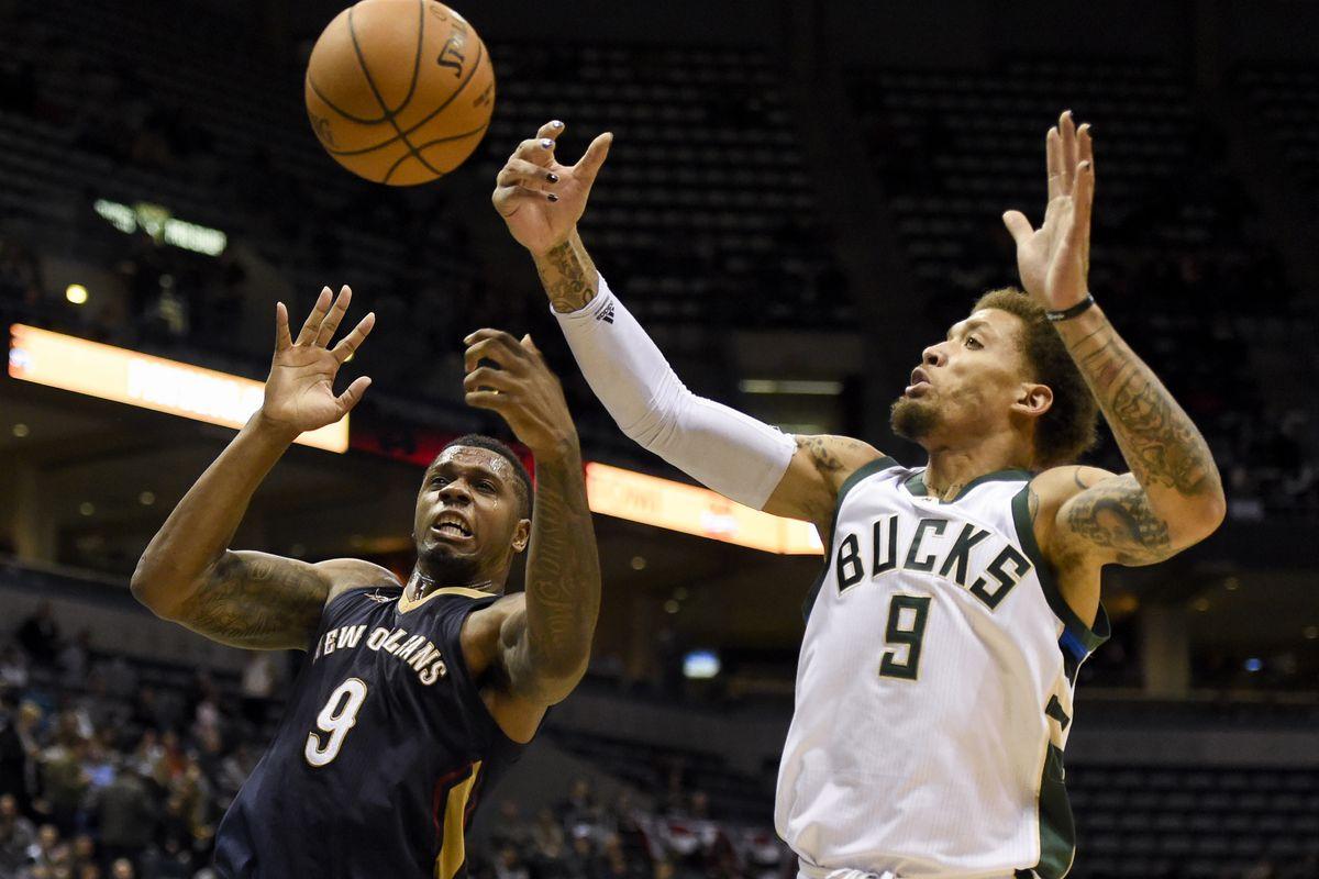 NBA: New Orleans Pelicans at Milwaukee Bucks