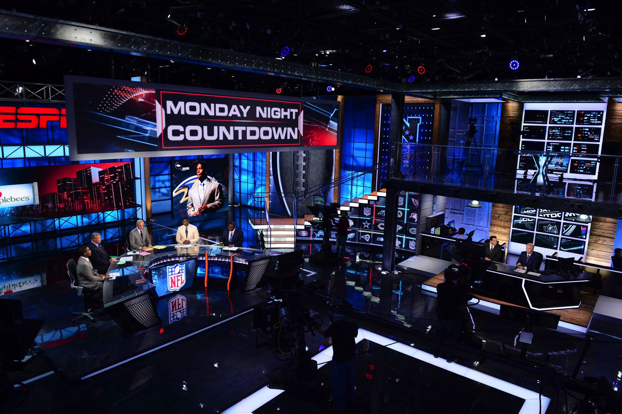 Inside The Studio Where Espn Is Betting Billions On The