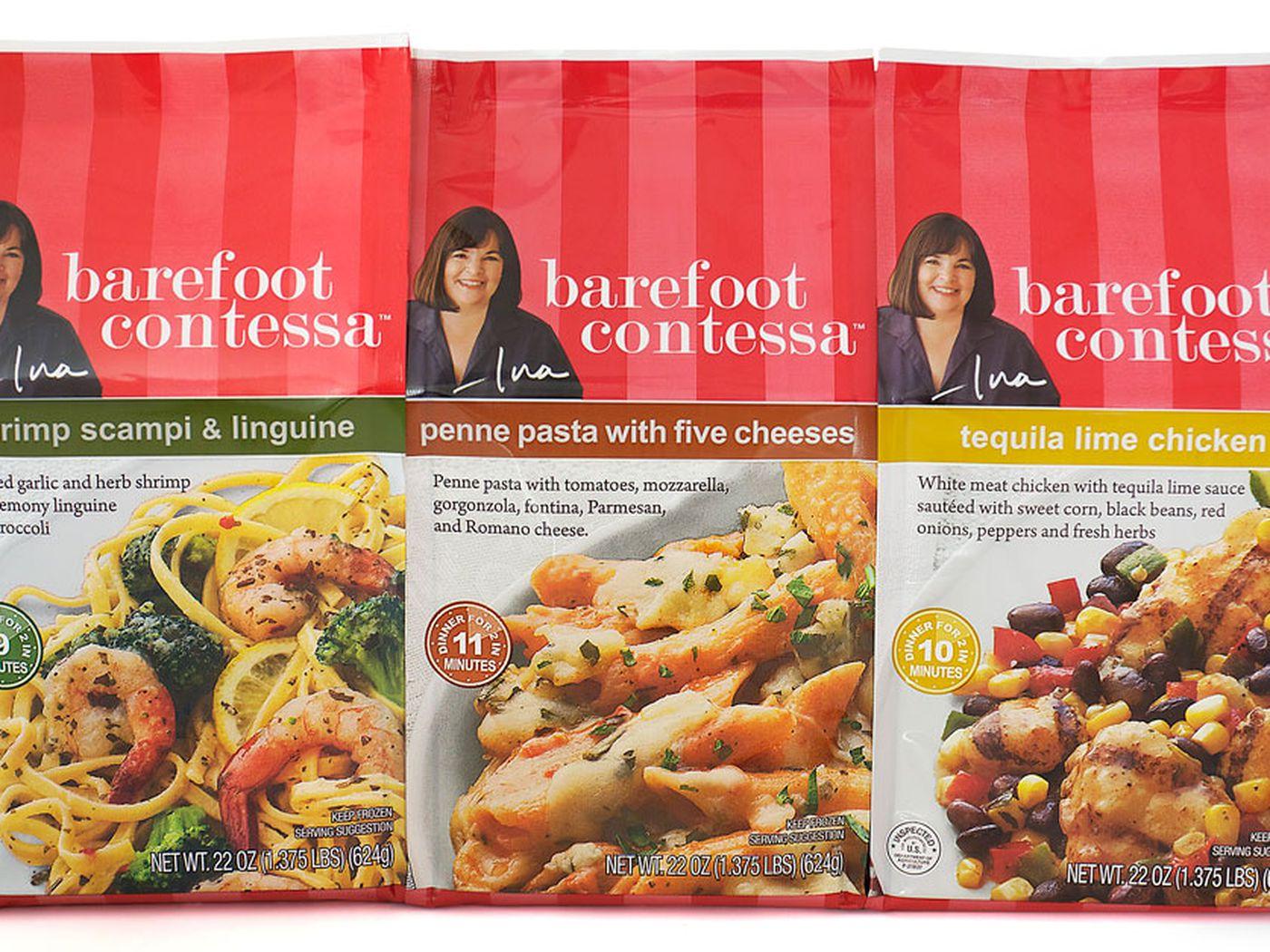 Barefoot Contessa Store behold ina garten's barefoot contessa frozen meals - eater