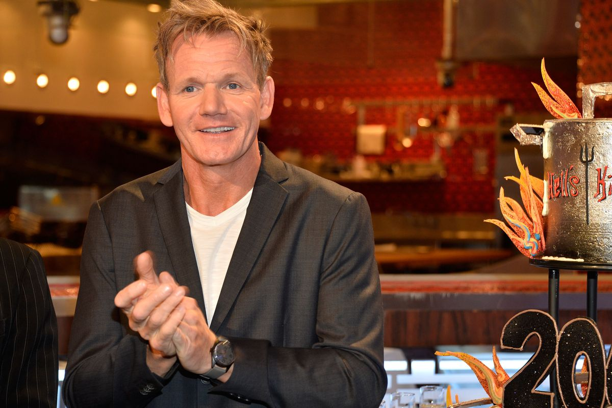 Gordon Ramsay S Hell S Kitchen Restaurant In Vegas Snags
